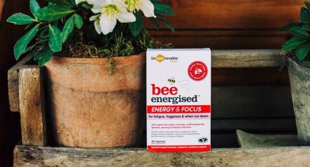 Bee Energised's unique formula is proven to increase energy and focus